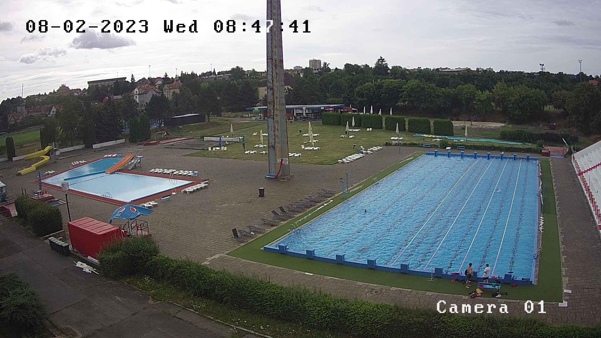 Plavecký stadion Slavie